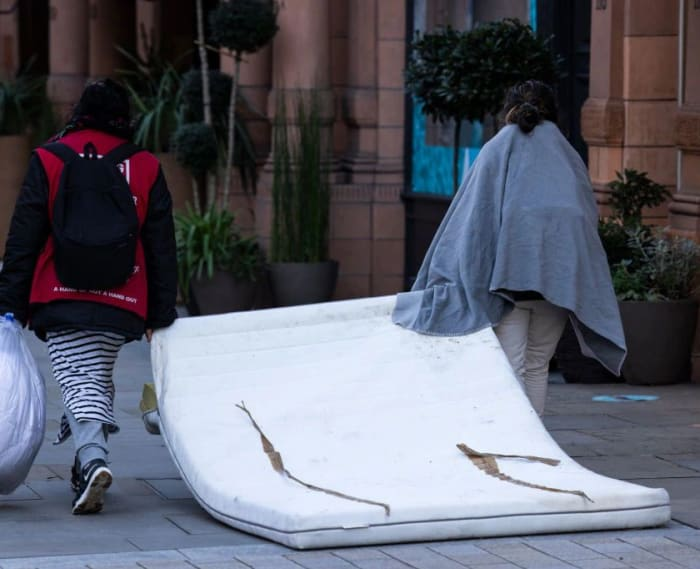 Ministers discuss plans to revamp Covid homeless scheme in London